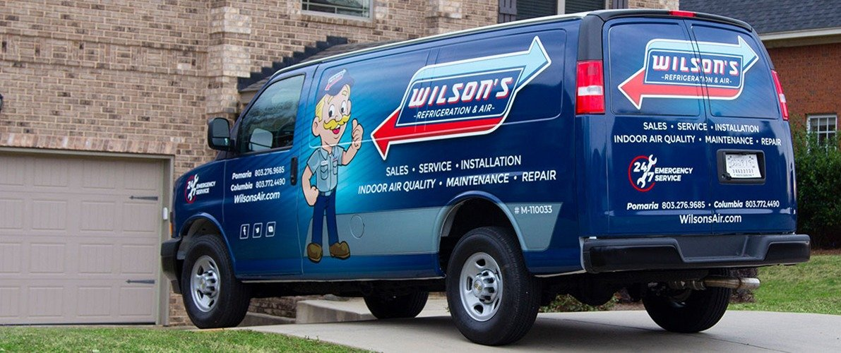 Wilson's Refrigeration & Air Truck Wrap