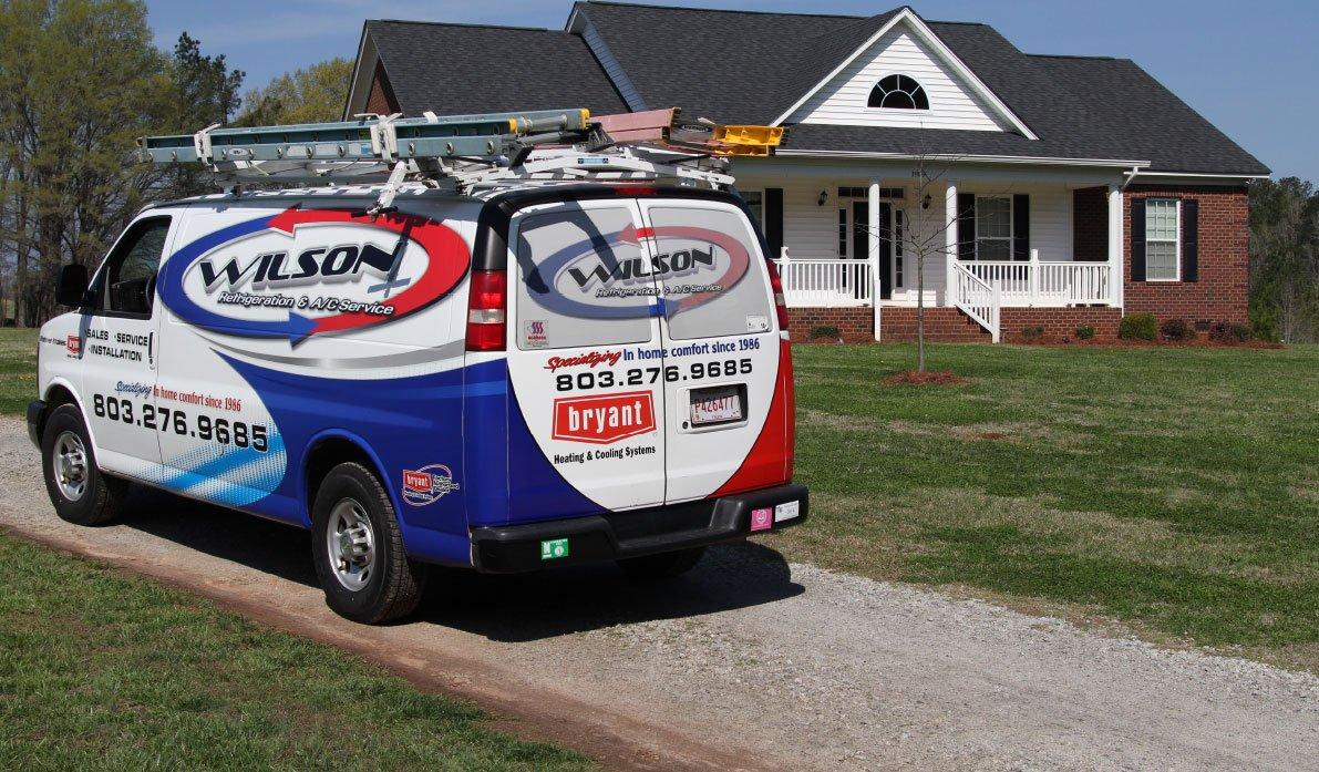 Wilson's Refrigeration & Air Truck Wrap